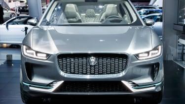 LA Motor Show - Jaguar I-Pace full front