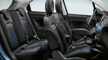 Fiat 500x interior Mirror special edition 2018