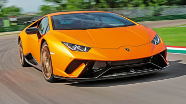 Best new cars of 2017: our road tests of the year - Lamborghini Huracan Performante