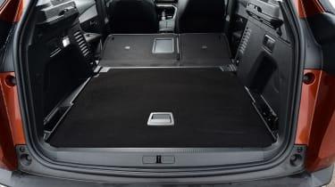 Peugeot 3008 brown - boot seats down
