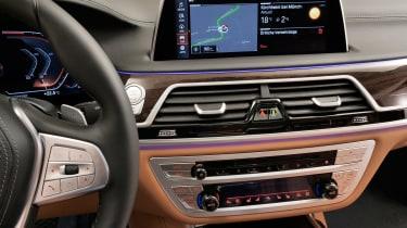 BMW 7 Series facelift - centre console