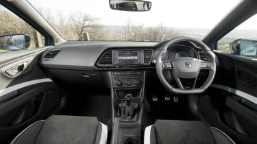SEAT Leon Cupra 290 2016 UK - interior
