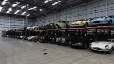 Collection of classic cars