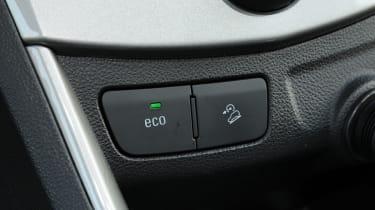 Chevrolet Trax cabin detail