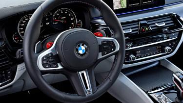 BMW M5 - steering wheel