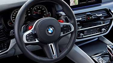 BMW M5 - steering wheel