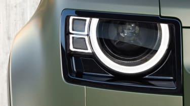 2019 Land Rover Defender headlight