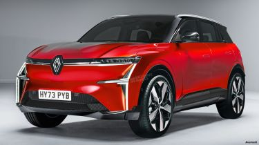 Renault electric SUV - exclusive image