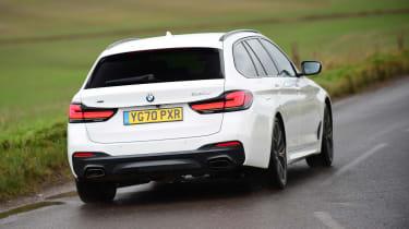 BMW 530d Touring - rear