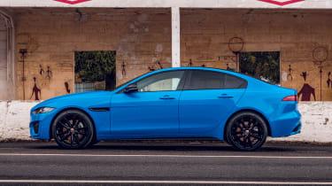 Jaguar XE Reims Edition - side static