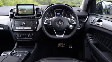 Mercedes GLE Coupe - interior