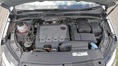 Used Volkswagen Sharan - engine