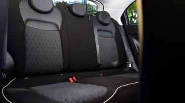 Fiat 500X - Rear Seats