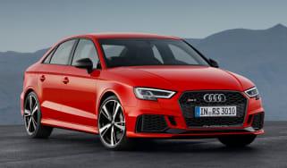 Audi RS3 saloon - front quarter