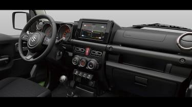 New 2019 Suzuki Jimny interior