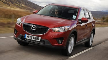 Mazda CX-5 2.2 D front tracking