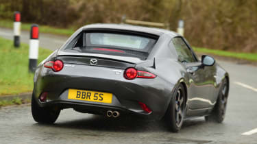 Mazda MX-5 BBR GTi Turbo - rear cornering
