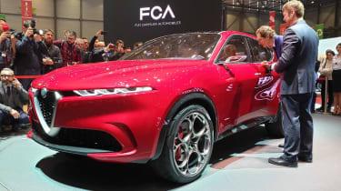 Alfa Romeo Tonale - Geneva front static
