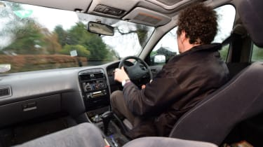 Used Toyota Avensis interior