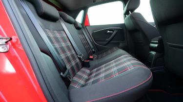 SEAT Ibiza Cupra vs VW Polo GTI - Polo rear seats