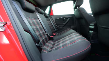 SEAT Ibiza Cupra vs VW Polo GTI - Polo rear seats