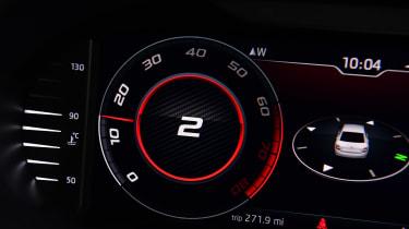 Skoda Octavia vRS Challenge - dials