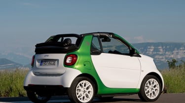 Smart ForTwo Electric Drive Cabrio - rear static