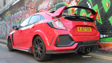 Honda Civic Type R GT - rear