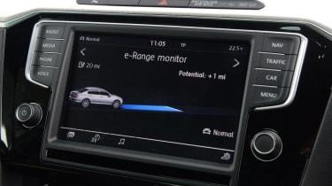 Volkswagen Passat GTE - range