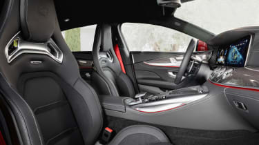 Mercedes-AMG GT 4-Door 63 S E-Performance - front seats