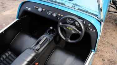 Caterham 7 160 interior