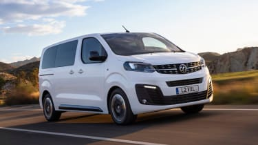 Vauxhall Vivaro Life - front tracking