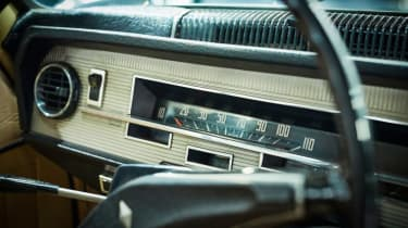 Renault 16 (R16) speedo