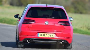 VW Golf GTI - rear cornering