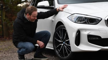 BMW 118i M Sport long termer - second report wheel