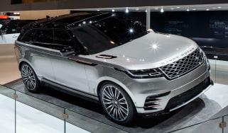 Range Rover Velar show - front