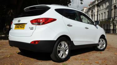 Hyundai ix35 rear three-quarters