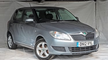 Used Skoda Fabia - front