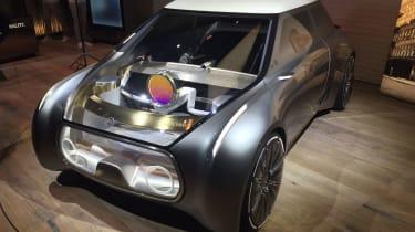 MINI Vision Next 100 concept - front detail