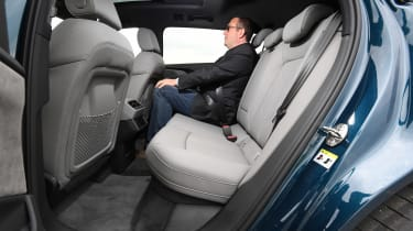 Audi e-tron long termer - first report Joh n McIlroy rear seats