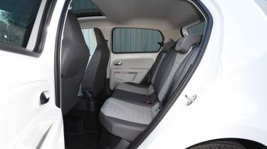 Volkswagen up! 1.0 TSI petrol - rear seats