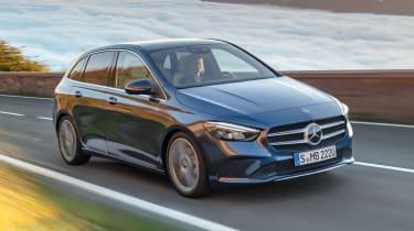 Mercedes B-Class - front/side