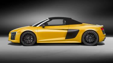 Audi R8 Spyder 2016 official - side