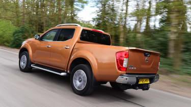 Nissan Navara long-term - rear tracking