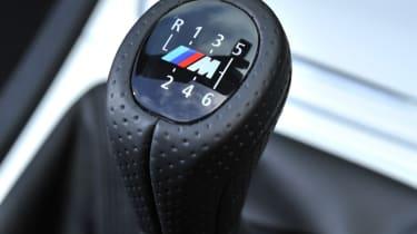 BMW 118d Convertible gearstick