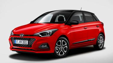 Hyundai i20 facelift - front