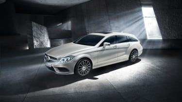 Mercedes CLS Final Edition front white