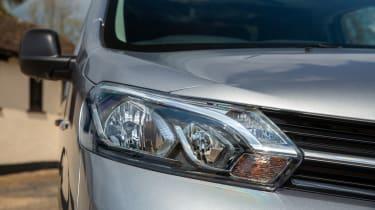 Toyota Proace Electric van - headlight