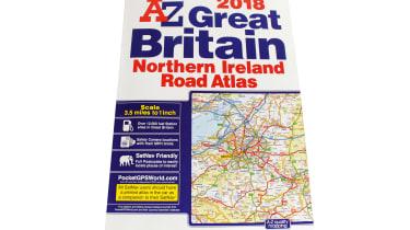 A-Z Great Britain & Northern Ireland Road Atlas 2018