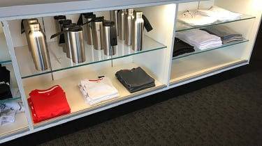 Tesla Factory Tour - gift shop